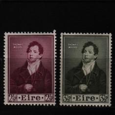 1952 irlanda mi. 114-115 conditie perfecta - Timbre straine