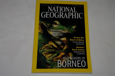 National Geographic - october 2000 - Wild gliders of Borneo foto