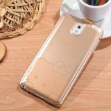 Husa carcasa HELLO KITTY auriu gold Samsung Galaxy Note 3 N9000 + folie ecran