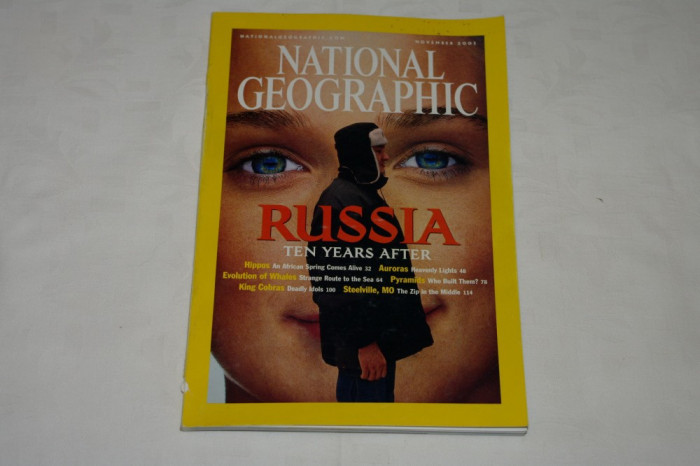 National Geographic - november 2001 - Russia Ten years after