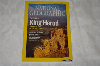 National Geographic - december 2008 - The real King Herod foto