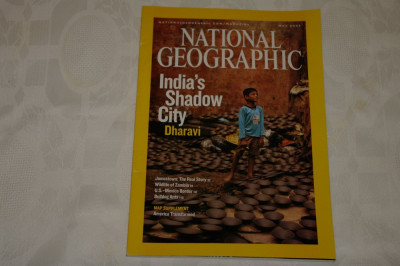 National Geographic - may 2007 - India's shadow city - Dharavi foto