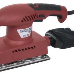 040401-Slefuitor electric cu vibratii 200 W 90 x 187 mm Raider 3 ani garantie