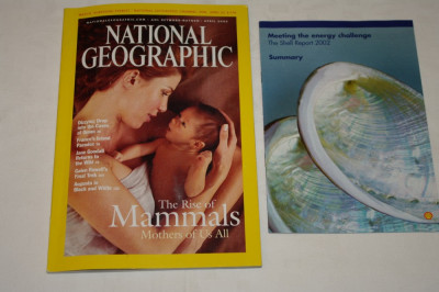 National Geographic - april 2003 - The rise of Mammals - Mothers of us all foto