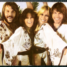 CARTE POSTALA ROMANIA CASA FILMULUI ACIN MUZICA FORMATIA ABBA NR. 2 **