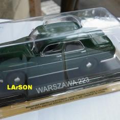 Macheta Warszawa 223 1964 +revista DeAgostini Masini de Legenda Warsawa