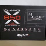 GPS Navigator WayteQ X850, 4, 3, Toata Europa