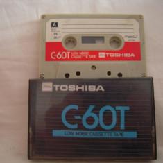 Vand caseta audio Toshiba C-60 T, originala, raritate!