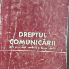 Dreptul comunicarii (presa scrisa, vorbita si televizata) Dumitru Titus Popa - Carte Drept constitutional