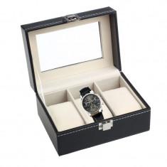 Cutie ceasuri Depozitare 3 CEASURI Cutie 3 ceasuri caseta ceasuri