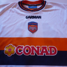 Tricou fotbal AC PISTOIESE (Italia) - produs oficial - Tricou echipa fotbal, Marime: XL, Culoare: Alb, De club, Maneca lunga