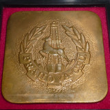 Placheta fotbal - PRAHOVA CSU PLOIESTI (aniversare 1911-1986)