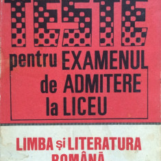 TESTE PENTRU EXAMENUL DE ADMITERE LA LICEU - Rodica Olivotto (vol. II)