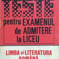 TESTE PENTRU EXAMENUL DE ADMITERE LA LICEU - Rodica Olivotto (vol. II) - Teste admitere liceu