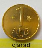 Moneda 1 Lev - BULGARIA 1992 *cod 1939 a.UNC, Europa