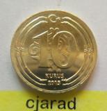 Moneda 10 Kurus - TURCIA 2015 *cod 1945 a.UNC, Europa
