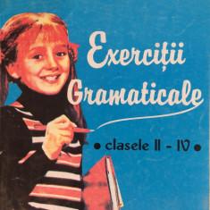 EXERCITII GRAMATICALE CLASELE II-IV - Mihaela Serbanescu