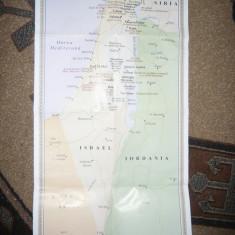 Harta Pelerinului in Sfintele Locuri, cu 8 ilustratii pe spate- 2008