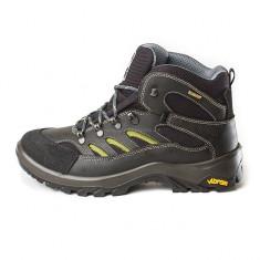 Bocanci barbati, bocanci Grisport, bocanci iarna, impermeabili, sunt ideali pentru trekking, munte, zapada, din piele (GR11495D7t ), Marime: 46, Culoare: Negru