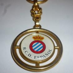 Breloc fotbal RCD ESPANOL BARCELONA