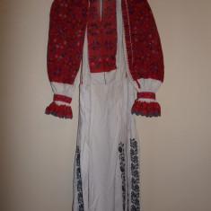 CAMASA POPULARA CU POALE DIN TINUTUL PADURENILOR, PENTRU FEMEI - Costum popular
