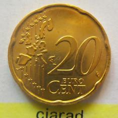 Moneda 20 Eurocenti - ITALIA 2002 *cod 1952 a.UNC, Europa