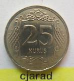 Moneda 25 Kurus - TURCIA 2014 *cod 1948, Europa