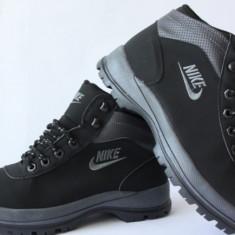 Bocanci Ghete Nike Mandara Negru - Bocanci barbati Nike, Marime: 36, 41