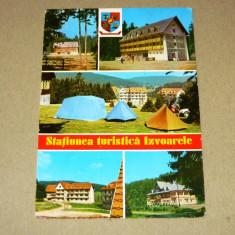 Izvoarele - Maramures - pitoresc - circulata 1980 - 2+1 gratis - RBK10301 - Carte Postala Maramures dupa 1918, Fotografie