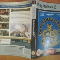 Coperta - Canis Canem Edit PLATINUM - Playstation PS2 ( GameLand )