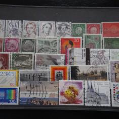 Set/lot timbre Germania stampilate:DDR-Deutsche Bundespost-Deutsch Reich #639 - Timbre straine
