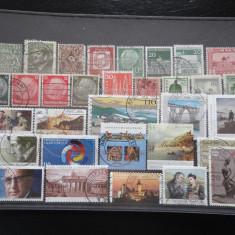 Set/lot timbre Germania stampilate:DDR-Deutsche Bundespost-Deutsch Reich #628 - Timbre straine