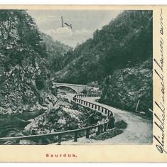 3287 - Gorj, SURDUC PASS - old postcard - used - 1905 - Carte Postala Oltenia 1904-1918, Circulata, Printata