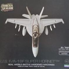 Macheta avion 18F Super Hornet - FORCES OF VALOR scara 1:72 - Macheta Aeromodel, 1:200