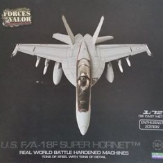 3122.Macheta avion 18F Super Hornet - FORCES OF VALOR scara 1:72 - Macheta Aeromodel, 1:200