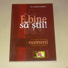 Leonard Azamfirei - Oameni sanatosi si bolnavi - 2+1 gratis - RBK10403 - Carte Medicina alternativa