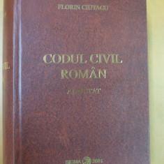 Codul civil roman adnotat Bucuresti 2001 - Carte Drept civil