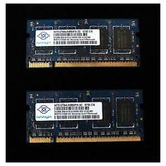 Vand RAM DDR2 Macbook Pro 2007-2008 - 667 Mhz - 1 Gb (2 module de 512Mb) - NANYA - Memorie RAM laptop
