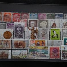 Set/lot timbre Germania stampilate:DDR-Deutsche Bundespost-Deutsch Reich #630 - Timbre straine
