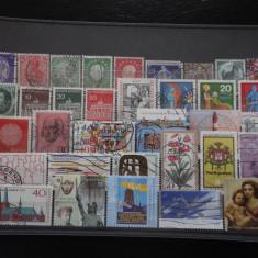 Set/lot timbre Germania stampilate:DDR-Deutsche Bundespost-Deutsch Reich #633 - Timbre straine