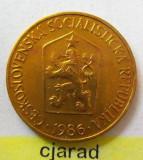 Moneda 1 Coroana - CEHOSLOVACIA 1986 *cod 1998 UNC, Europa