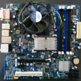 Placa de baza Intel DG45ID + procesor Intel Q9550 2.83GHz + cooler