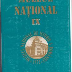 Muzeul National vol IX 1997 Muzeul National de Istorie a Romaniei
