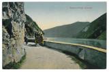 3281 - Orsova, Danube KAZAN, cart - old postcard - unused