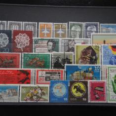 Set/lot timbre Germania stampilate:DDR-Deutsche Bundespost-Deutscheland #627 - Timbre straine