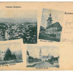 3320 - L i t h o, Sibiu, RASINARI - old postcard - used - 1901 - Carte Postala Transilvania pana la 1904, Circulata, Printata
