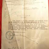 Adresa Antet UFSR -delegare pt intocmire Regulament Sanitar 1936