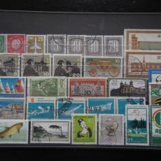 Set/lot timbre Germania stampilate:DDR-Deutsche Bundespost-Deutscheland #631 - Timbre straine