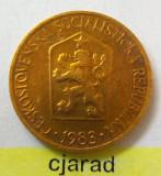 Moneda 1 Coroana - CEHOSLOVACIA 1983 *cod 1996 xf, Europa
