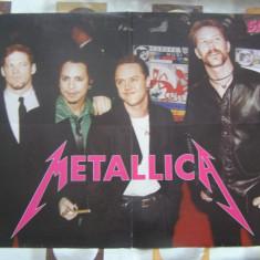 Poster Metallica si Tarkan / Salut - Afis